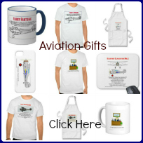 Aviation gifts advertisement