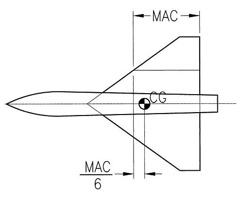 rc delta wing pdf plans
