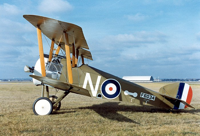 Sopwith Camel on Red Baron Rotary Engine