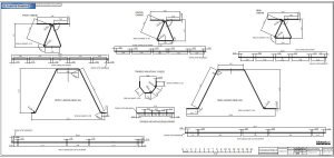 RC airplane plans of the Fairey Swordfish:Wire parts.