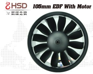HSD 105mm fan front view