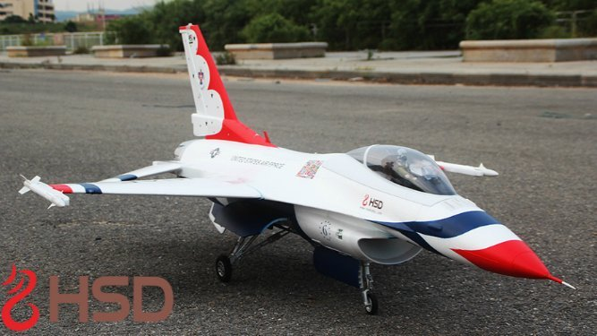 HSD F-16 T-Bird front view