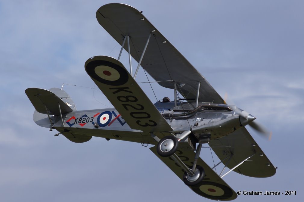 The Hawker Demon of the Shuttleworth Collection.