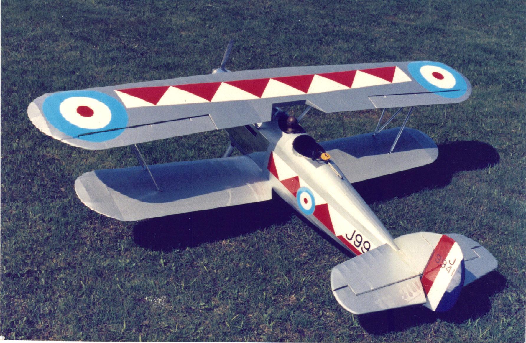 1/5 scale RC Hawker Demon