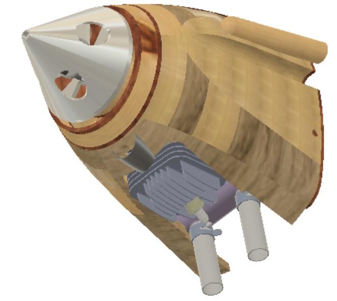 RC Hawker Demon: Gas Engine Power Module