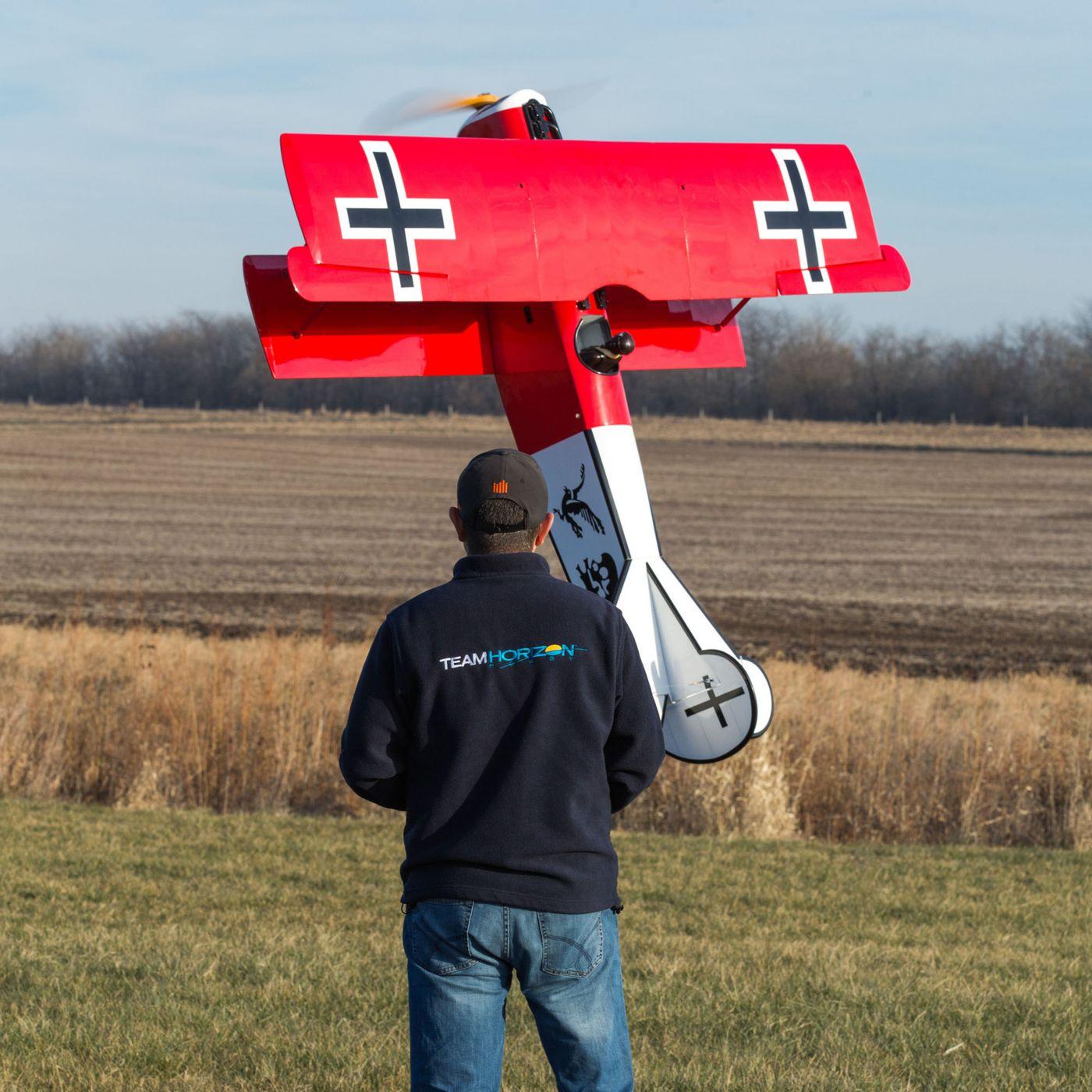 Hangar 9 RC Fokker D-7: Hovering!