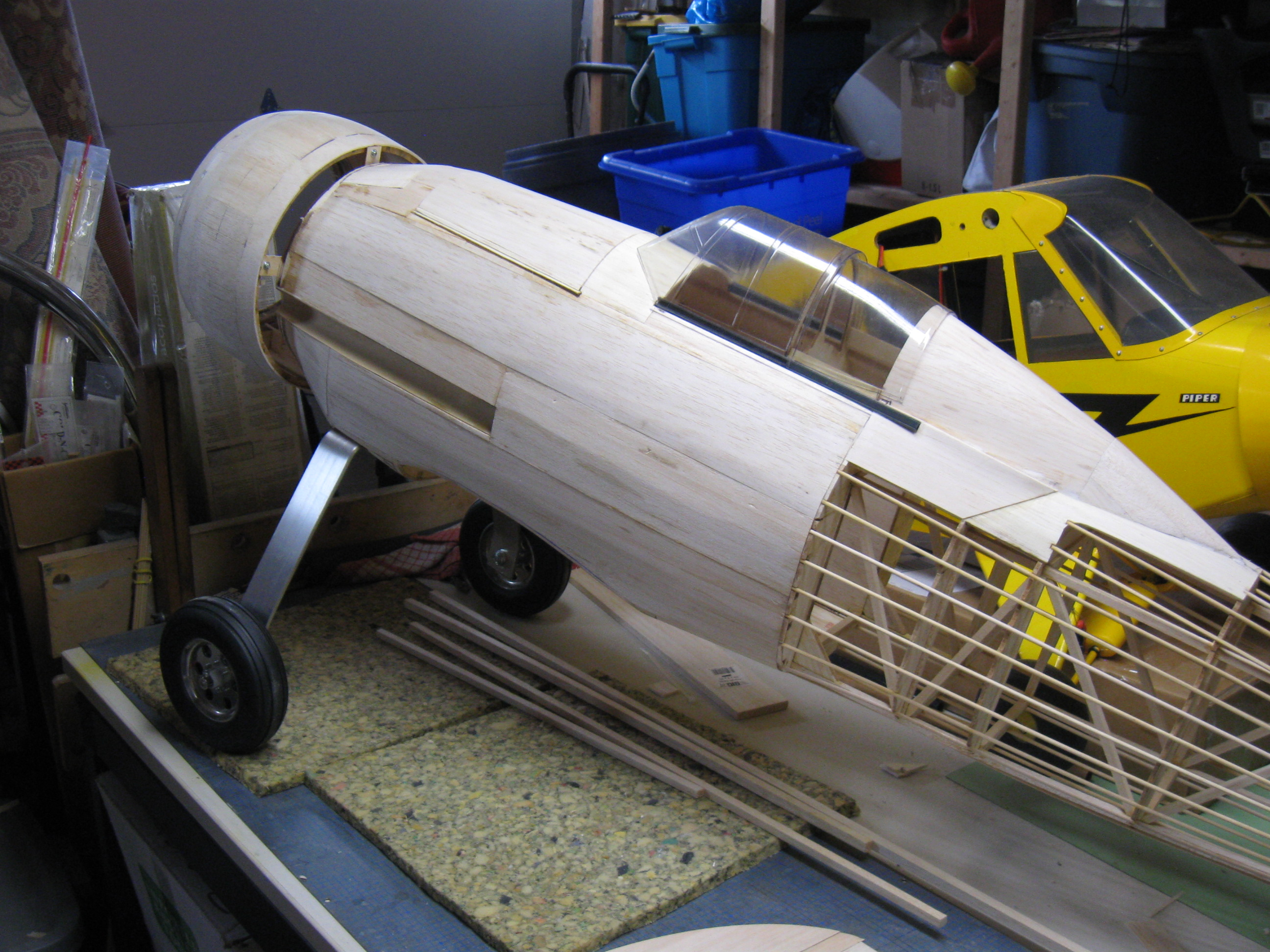 RC Gladiator Construction: Fuselage.