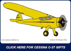 Cessna C-37 Airmaster Ad.