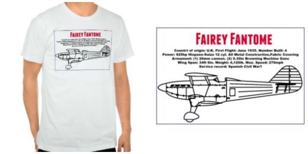 Fairey Fantome T-shirt
