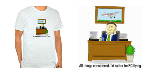 Daydreaming RC Flyer T-shirt