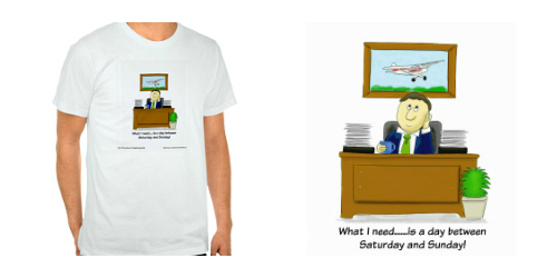 Daydreaming flyer T-shirt