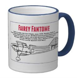 Fairey Fantome mug