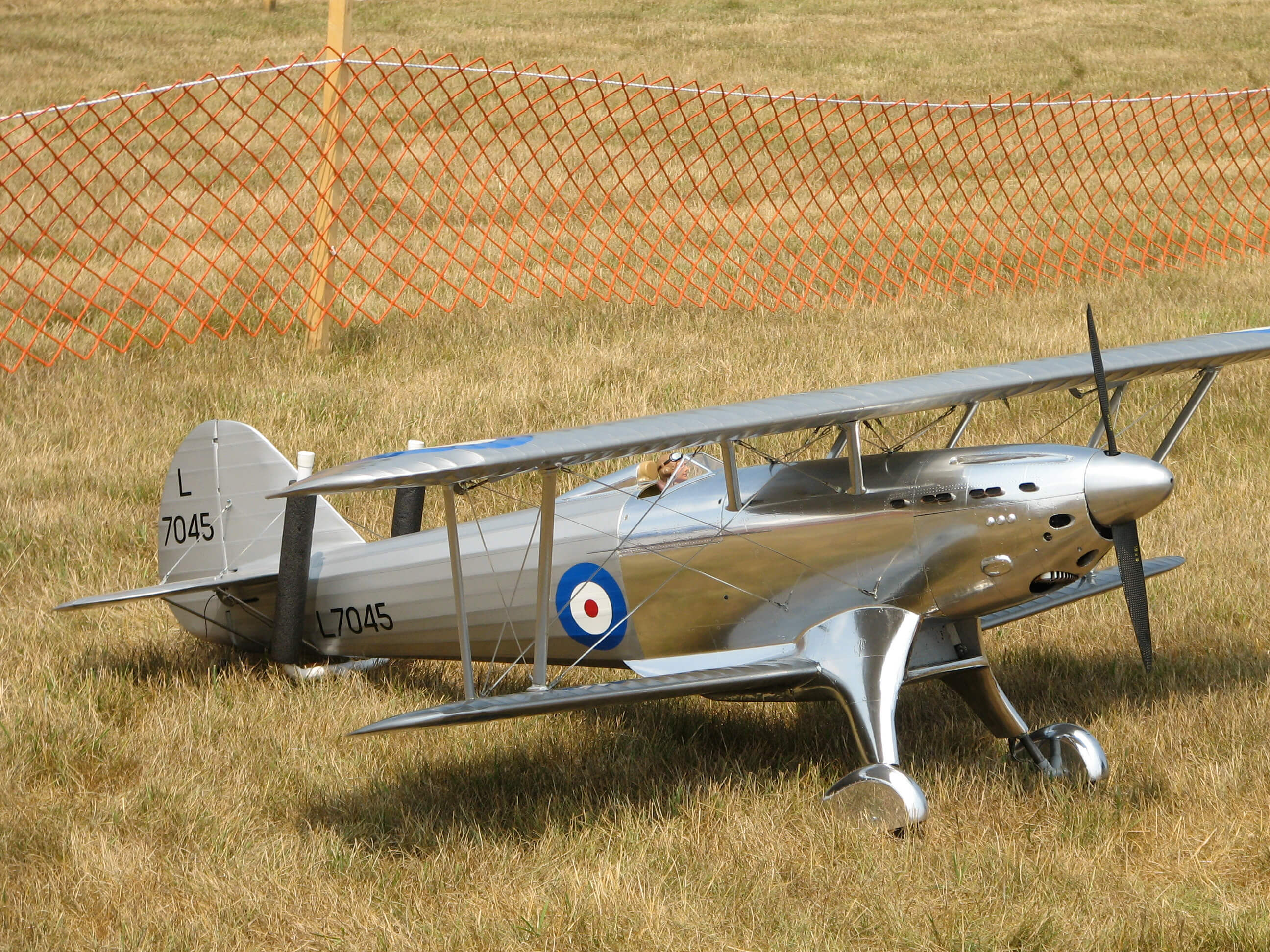RC model of the Fairey Fantome: 1/5 full size:Awaiting the next flight.