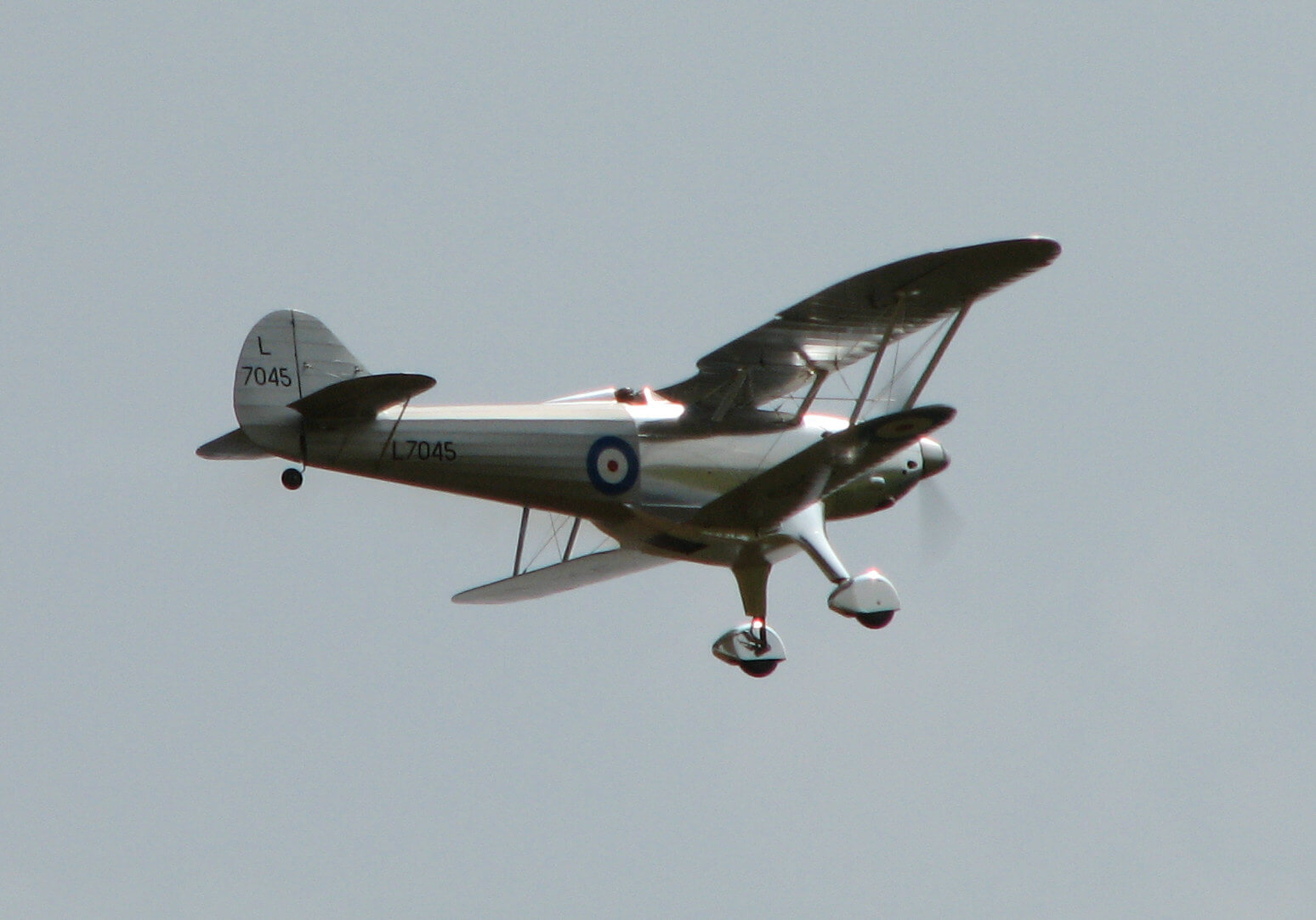 RC model of the Fairey Fantome: 1/5 full size:Straight and level flight.