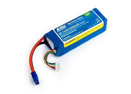 The E-Flite Lipo battery. 4S 2200mAh