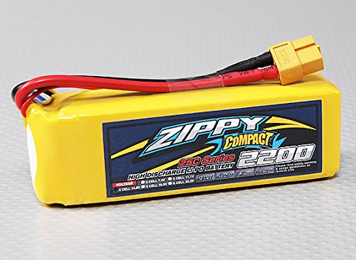 The Zippy 4S 2200mAh Lipo