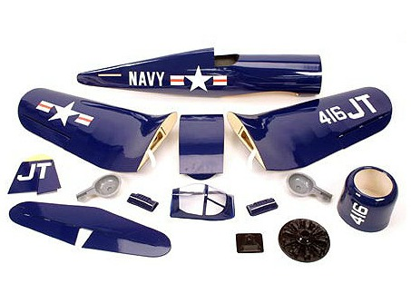 Kit content of Chance Vought Corsair