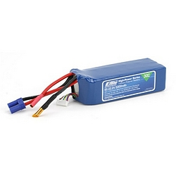 E-Flite 5000mAh 6-cell/6S 22.2V Pro Power 30C