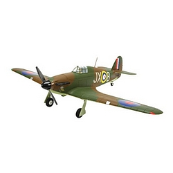 The E-Flite Hawker Hurricane.