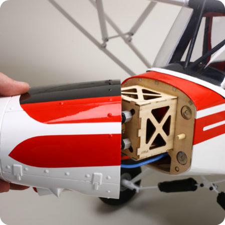 E-Flite Super Cub 25E cowl