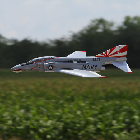 The E-Flite F-4 Phantom.
