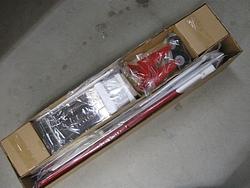 E-Flite DHC Beaver 25e box inside