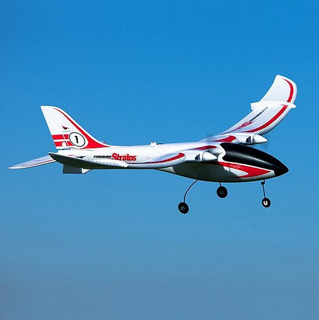 Firebird Stratos flying