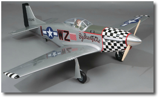 Top Flite P-51 Giant Scale