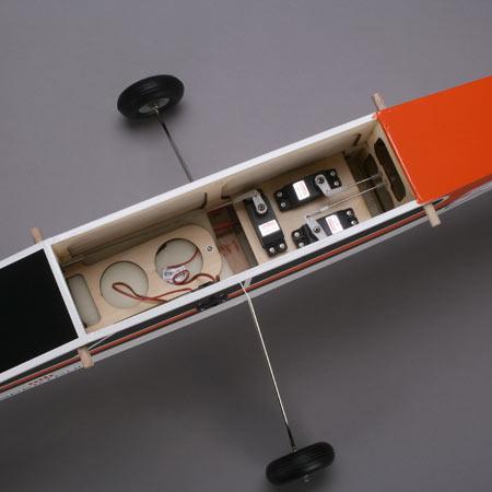 Hangar 9 Alpha trainer fuselage interior
