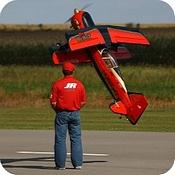 Hangar 9 Beast in hover