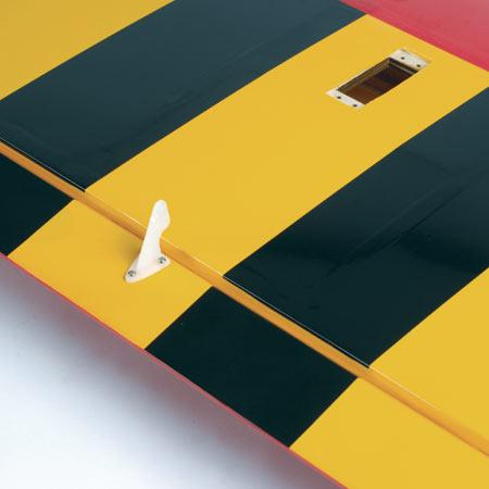 Hangar 9 Pulse 60 wing underside