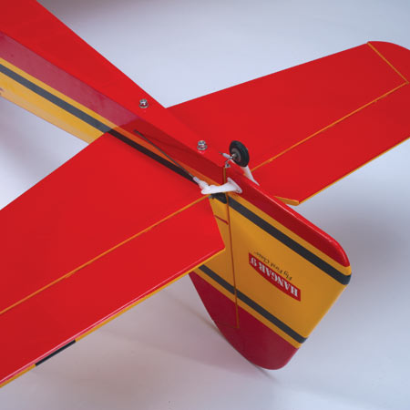 Hangar 9 Pulse 60 tail details