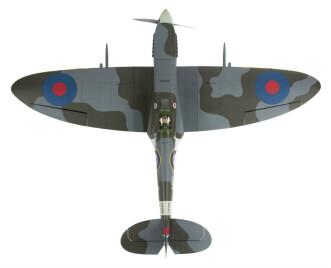 Hangar 9 Spitfire IXC 30cc ARF:Plan view