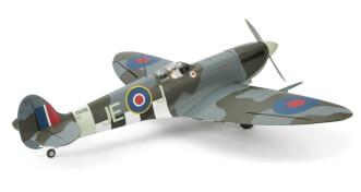Hangar 9 Spitfire IXC 30cc ARF:3/4 rear view