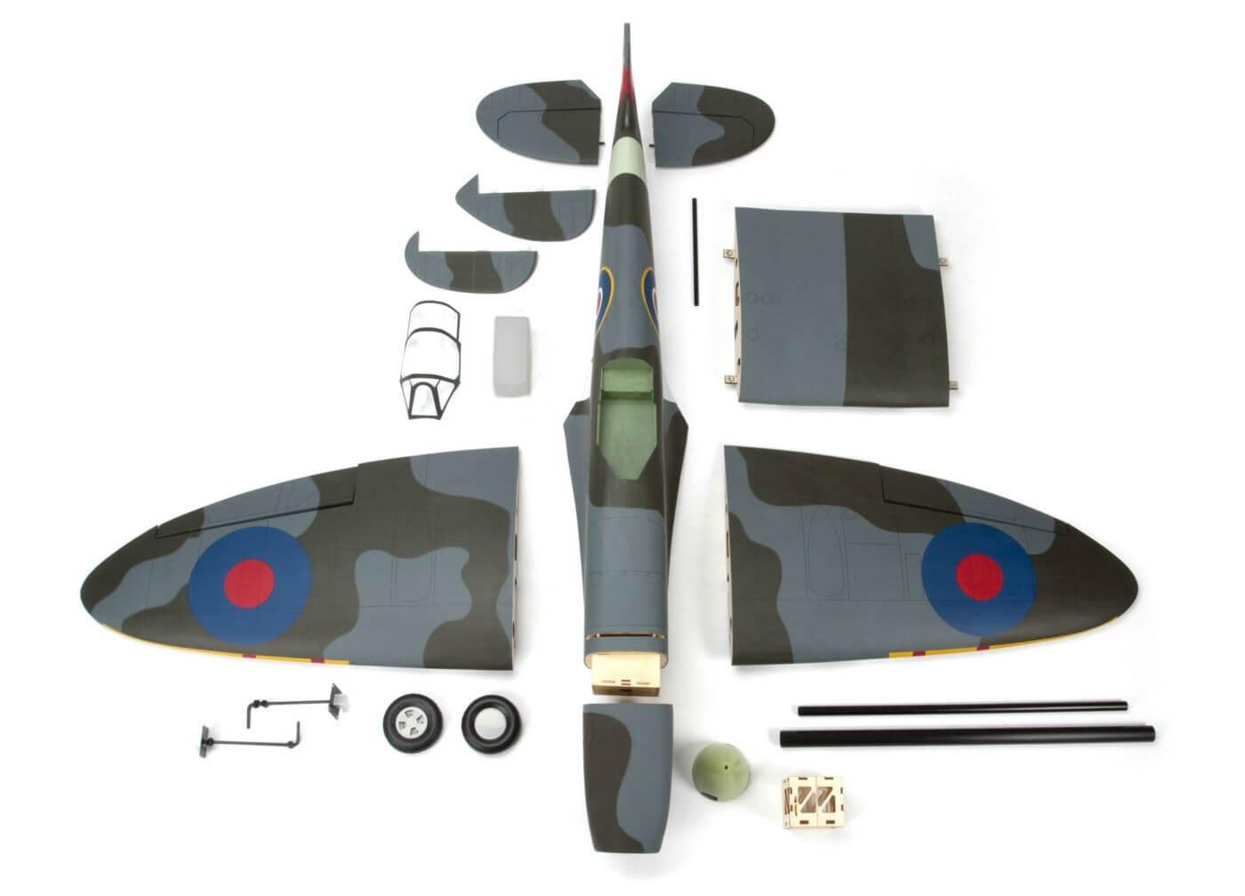 Hangar 9 Spitfire IXC 30cc ARF: