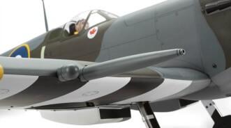 Hangar 9 Spitfire IXC 30cc ARF:Wing Cannon