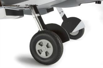 Hangar 9 Spitfire IXC 30cARF:Retractable landing gear