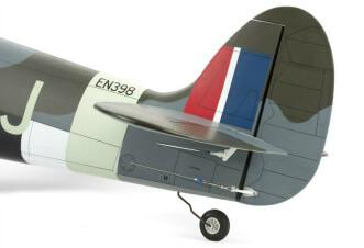 Hangar 9 Spitfire IXC 30cc ARF:Tail section