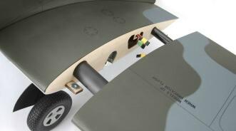 Hangar 9 Spitfire IXC 30cc ARF:Wing removal