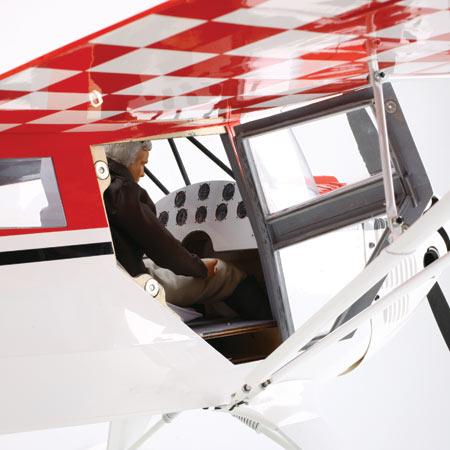 Cockpit and door
