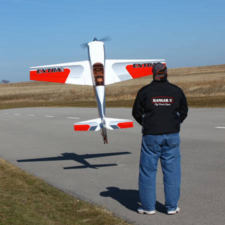 Hangar 8 Extra 300 ARF in hover