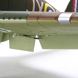 E-Flite Hawker Hurricane wing detail