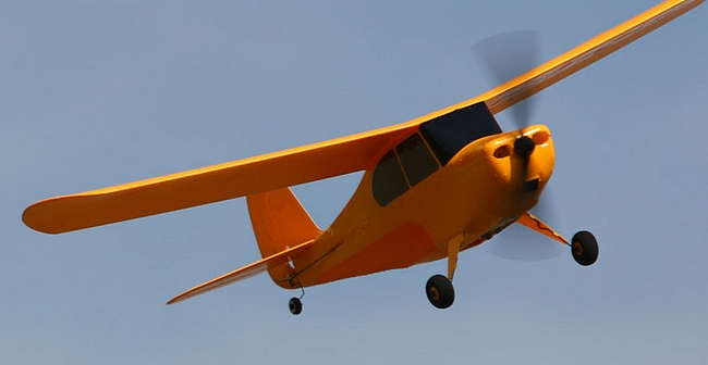 Hobbyzone Champ flying