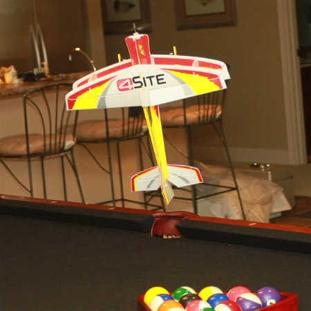 Indoor RC Airplanes. The E-flite Micro 4-Site