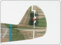 Plantraco Warhawk rudder