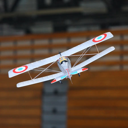 Indoor RC Planes. The E-flite Nieuport 17.