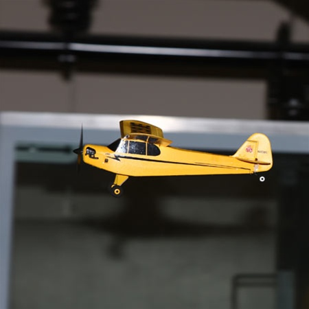 Indoor RC Planes. The Parkzone Ultra-Micro J-3 Cub.