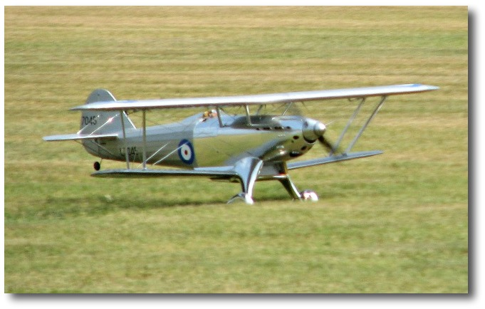 Fairey Fantome take off
