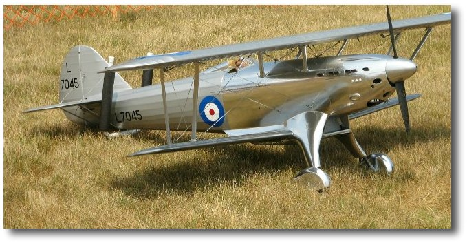 1/5 scale Fairy Fantome RC airplane