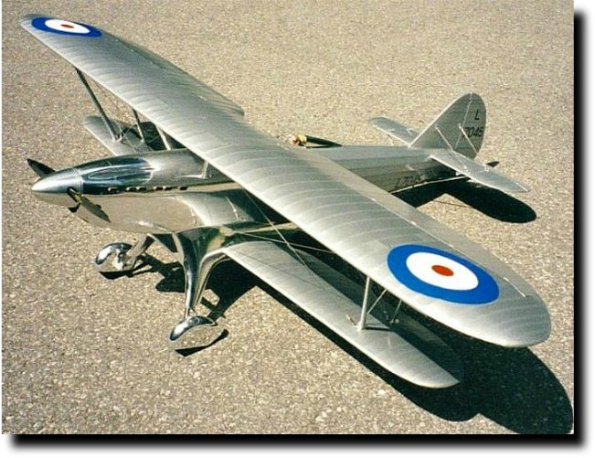 Fairey Fantome 1/5 scale RC airplane